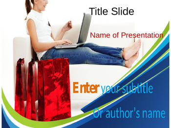 Internet Shopping PPT Template