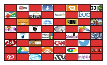 Internet Sites Legal Size Photo Checkerboard Game