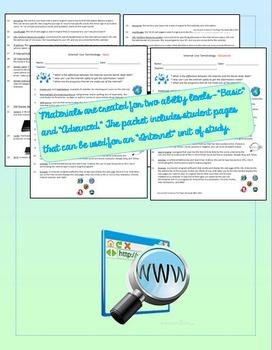 Internet Use Assessment Pack