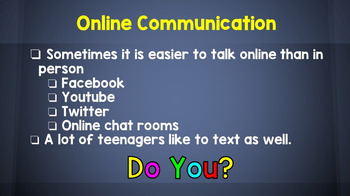Internet and Phone Safety: Staying Safe Online PowerPoint Presentation - Unit 1