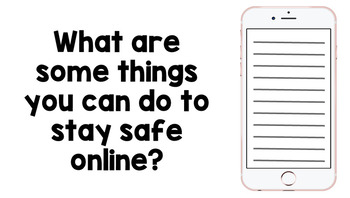 Internet and Phone Safety: Staying Safe Online PowerPoint Presentation - Unit 2