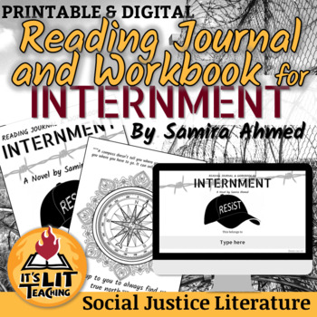 Internment Reading Journal and Workbook