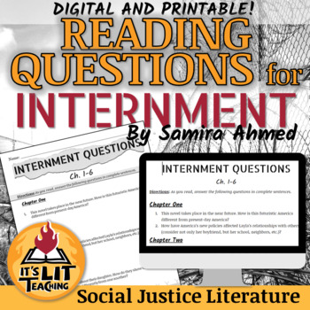 Internment Reading Questions