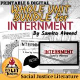 Internment by Samira Ahmed Novel Unit Bundle