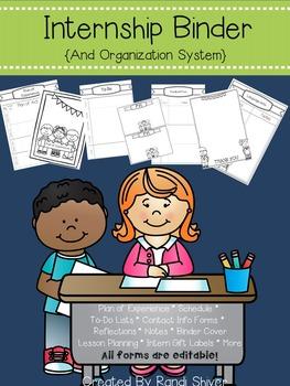 Internship Binder and Organization System