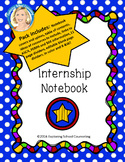 Internship Binder for School Counseling Students