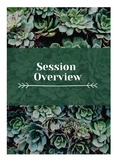 Internship Daybook- Succulent Themed.