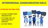 Interpersonal Communication Skills (Business Communication)