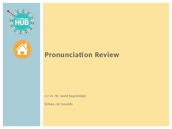 Interpersonal Relationships - Past to Present - Pronunciation Review and Game