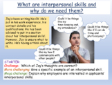 Interpersonal Skills - Presentation and Worksheets