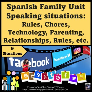 Interpersonal communication for: family, values, technology, rules, etc
