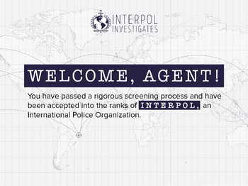 Interpol Investigates Geography Simulation