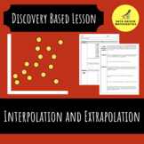 Interpolation and Extrapolation with Scatter Plots