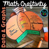 Interpret Data, Graphs and Charts Fall Math Craftivity