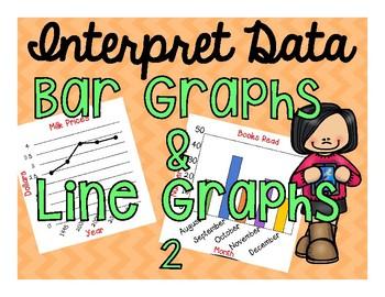 Interpret Data on Bar and Line Graphs II