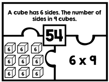 Interpret Multiplication Number Puzzles - Products of Whole Numbers