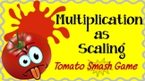Interpret Multiplication of Fractions as Scaling-Tomato Sm