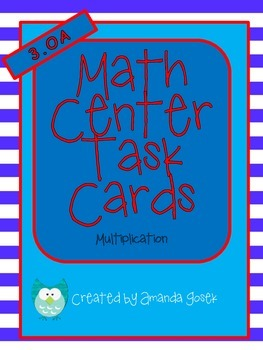 Common Core Math Center 3.OA