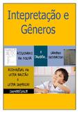 Interpretação e Gêneros - atividades em folha e em caderno interativo