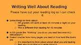 Interpretation Book Clubs Session 2: Writing about Reading