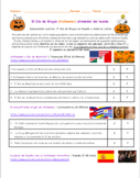 Interpretative Listening Spanish Activity Halloween in Spain and Latin America