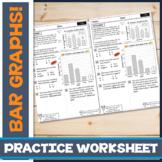 FREE! Interpreting Bar Graphs to Solve Word Problems: Skills Drill / Exit Slip