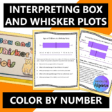 Interpreting Box and Whisker Plots Color by Number Activity