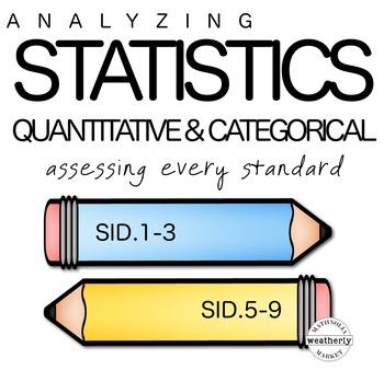 DATA Interpreting Categorical and Quantitative Data TEST PREP