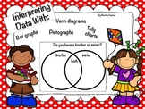 Interpreting Data With Bar Graphs, Venn Diagrams, Pictogra