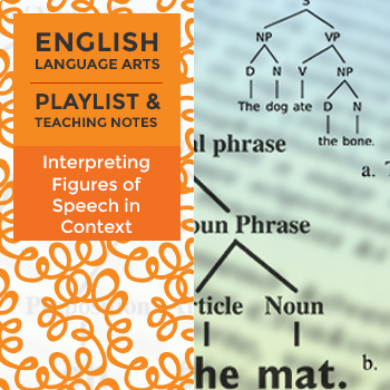 Interpreting Figures of Speech in Context – Playlist and Teaching Notes