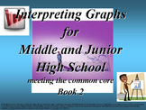 Interpreting Graphs 2: meeting the common core