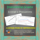 Interpreting Graphs - Ecology & Populations (8 page packet + scaffolds + plan)