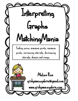 Interpreting Graphs MatchingMania