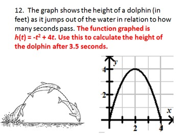 Interpreting Graphs and Functions (for Algebra 1 or 2)