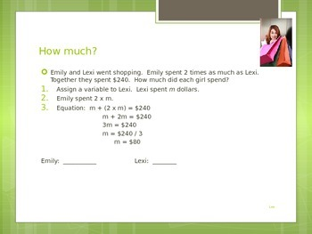 Interpreting Multiplication Equations