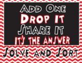 Interpreting Remainders- Add One, Drop It, Share It, It's