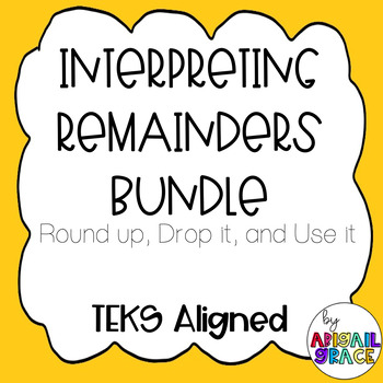 Interpreting Remainders Bundle