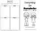Interpreting Remainders - Interactive Student Booklet & TEST