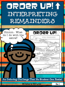 Interpreting Remainders - Order Up!