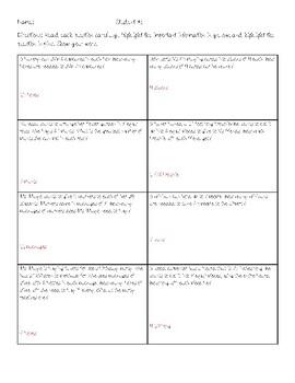 Interpreting Remainders Practice
