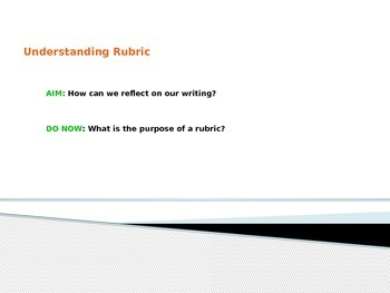 Interpreting Rubrics + Getting Excited about Writing