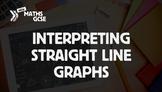 Interpreting Straight Line Graphs - Complete Lesson