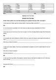 Interpreting Train Time Tables grade 3/4 2xability levels