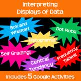 Interpreting Visual Displays of Data Bundle *Google Classr