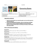 Interpreting and Connecting Quotes Essay