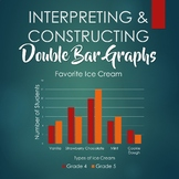 Interpreting and Constructing Double Bar Graphs - Booklet