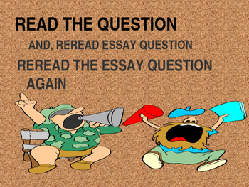 Interpreting and Essay Question  PPT