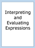 Interpreting and Evaluating Expressions