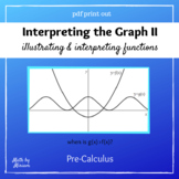 Interpreting the Graph Activity for Pre-Calculus Functions Unit