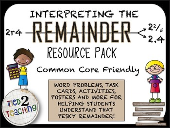 Interpreting the Remainder Resource Pack